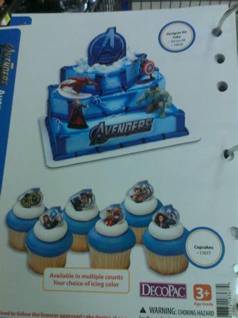 walmart avengers birthday cake