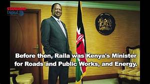 THIS MAN RAILA: We have profiled Former Prime Minister ...