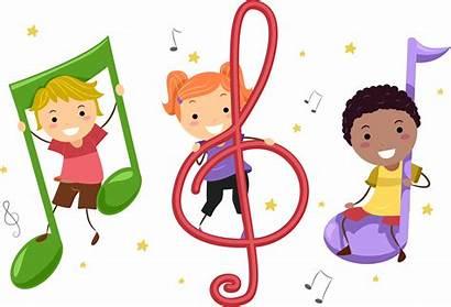 Clip Instruments Musical Preschool Clipart Playing Children