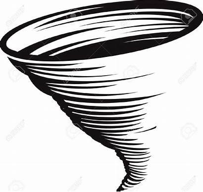 Cyclone Clip Vortex Clipart Drawing Wirbelsturm Ciclone