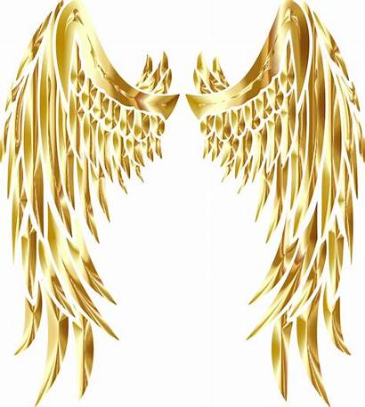 Wings Angel Gold Clipart Vhv