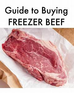 Guide To Buying Freezer Beef  U2013 Sisters Shopping Farm And Home