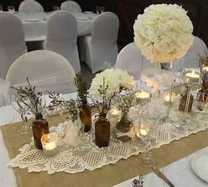 Centre De Table Champetre : d coration mariage champ tre plus de 50 id es originales ~ Melissatoandfro.com Idées de Décoration