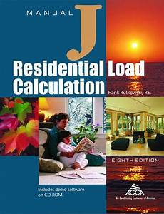 Acca Manual J  Hvac Residential Calculation 8th  U2014 Bni