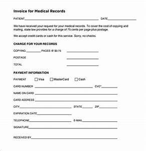 Hospital Bill Receipt Sample Free 19 Medical Receipt Templates In Pdf Ms Word