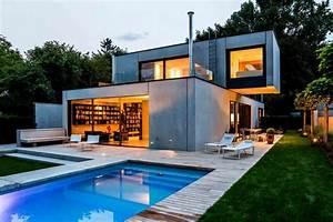 Kreativ Beton Bauhaus : beton einfamilienhaus puristisch und praktisch livvi de ~ Watch28wear.com Haus und Dekorationen