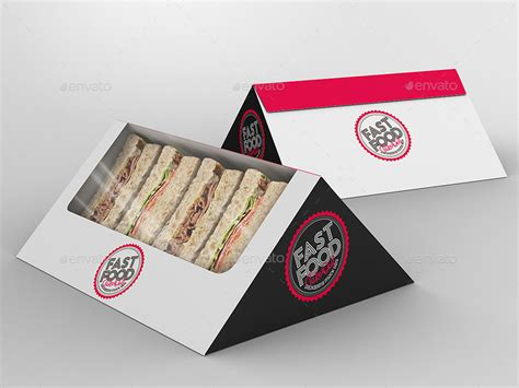 Fast Food Boxes Mock Up Bundle 3 By Ina717