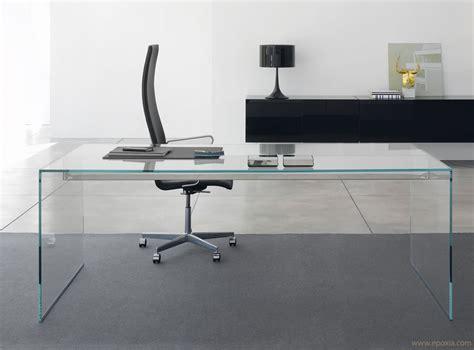 bureau en verre bureau