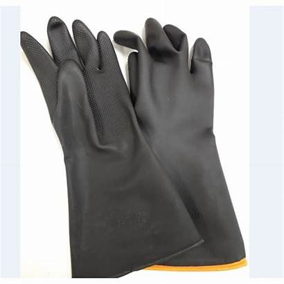 Heavyweight Flocklined Chemical Gloves G828 Needlers 00cfg