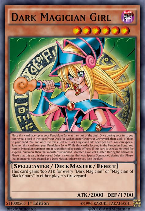 dark magician girl deck master design by serenade87 on