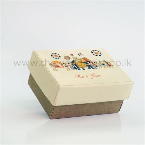 perahara rectangular wedding cake box