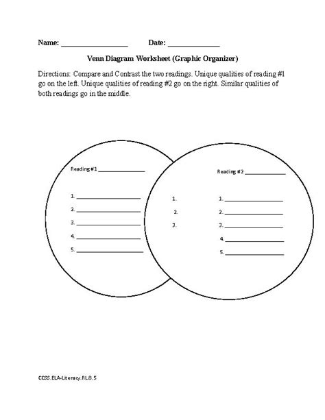 common reading worksheets for 7th grade 7th grade