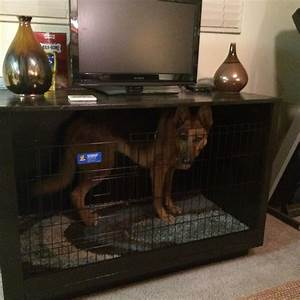 best 25 crate tv stand ideas on pinterest tv stand With dog crate stand