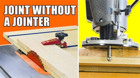 table  jointer jig router jointer jig   joint