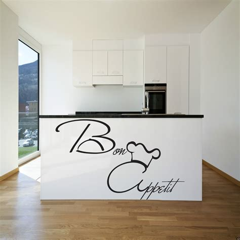 wall stickers for kitchen design bon appetit wall sticker kitchen vinyl quote decal 8887