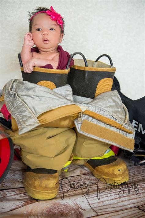 firefighter newborn photography fireman baby fireman