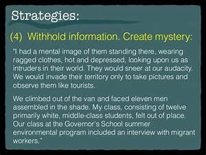 narrative essay introduction paragraph