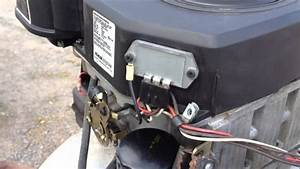 Wheres The Charge Wire On A 17hp Kohler Command       Need