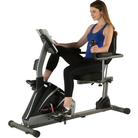 Fitness Reality R8000 High-Capacity Programmable Recumbent ...