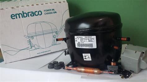 compressor embraco 1 4 127v gas r134 black friday r