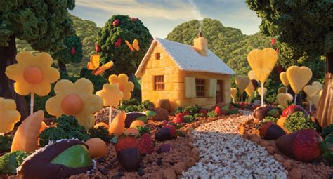 carl warner transforms food  fantastical landscapes