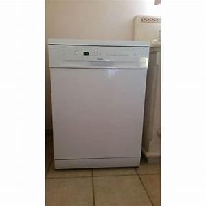 Lave Vaisselle Encastrable Pas Cher : lave vaisselle whirlpool adp 8463 non encastrable blanc ~ Dailycaller-alerts.com Idées de Décoration
