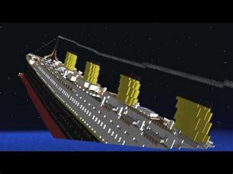 minecraft el titanic hundiendose yourepeat