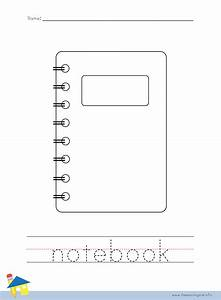 Notebook Coloring Page | www.pixshark.com - Images ...