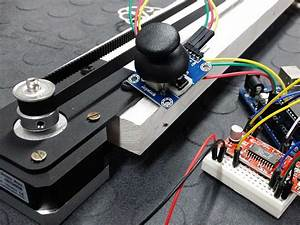 Stepper Motor Easy Driver And Joystick