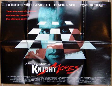 knight moves original cinema  poster