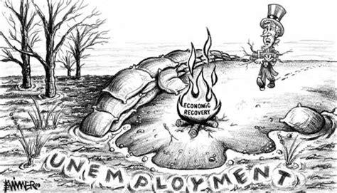 unemployment flood  karlwimer business cartoon toonpool