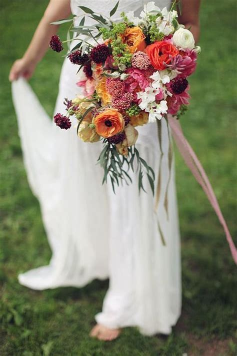 17 Best Images About Boho Chic Wedding Bouquets On