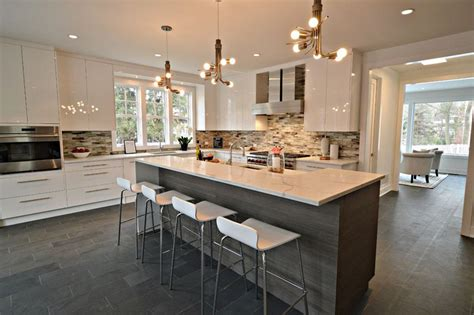 modern kitchen island stools 37 large kitchen islands with seating pictures 7718