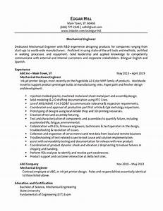 Online Resume Templates Mechanical Engineer Resume Example Research Computer