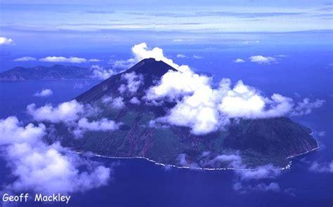Geoff Mackley - Lopevi Volcano - Vanuatu