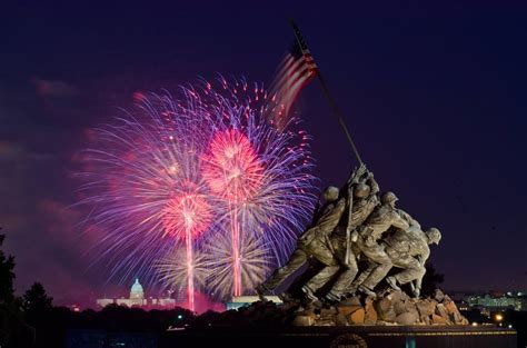 fireworks memorial july washington marine corps fourth war 4th dc smart celebrations feuerwerk copy washingtondc military