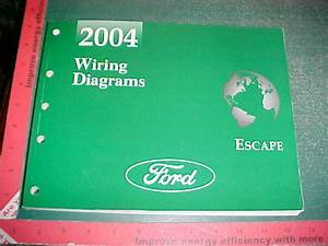 2004 Ford Escape Wiring Diagrams Manual Gas Models Xlnt