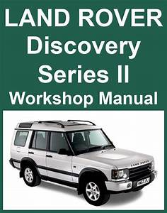 1999 Land Rover Discovery Series Ii Owners Manual