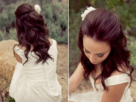 top 4 half up half down wedding hairstyles wedding