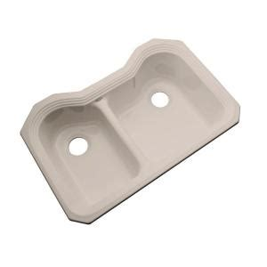 acrylic undermount kitchen sinks thermocast breckenridge undermount acrylic 33 in 3980