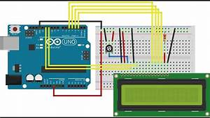 Arduino Lcd Digital Clock Uno Without Rtc  Beginners