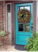 Front Door Paint Colors For Brick Homes of Popular Colors To Paint An Entry Door Installing Decorating Windows