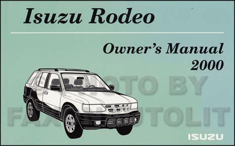 free online car repair manuals download 2000 isuzu trooper transmission control 2000 isuzu rodeo free repair manual isuzu rodeo sport 1998 2004 factory service repair