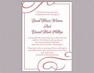 editable wedding invitation templates free download for With free editable wedding invitation templates for word