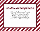 Candy Cane Poems | LoveToKnow