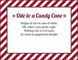 Candy Cane Poems   LoveToKnow