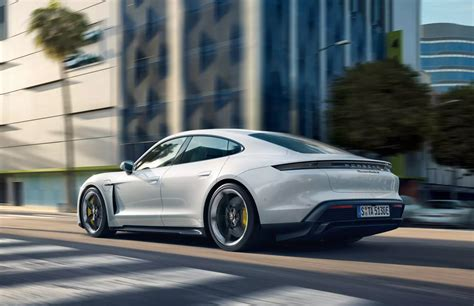 Its Heart: Electric. Its Soul: Porsche. Its Name: Taycan ...
