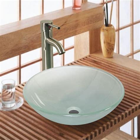 custom bathroom vanity ideas 20 glass sink design ideas for bathroom inspirationseek com