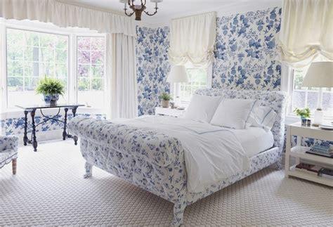 Tapete Blau Schlafzimmer by Flower On Flower Fashion Forward Nbaynadamas Furniture