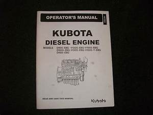 Kubota Engine D905